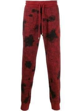 CP Company printed slim fit track pants - Red