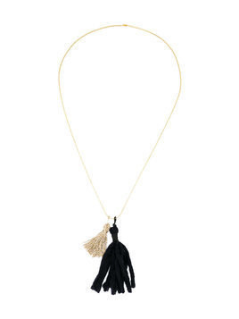 Caffe' D'orzo tassel necklace - Blue