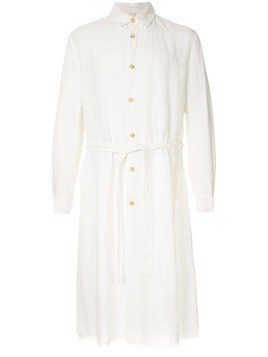 Forme D'expression long oversized shirtJuxtaposed Shirt Coat - White