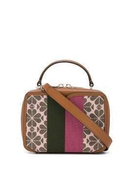 Kate Spade colour block patterned satchel bag - PINK