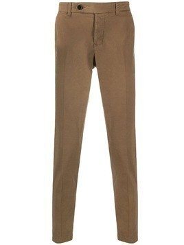 Al Duca D'Aosta 1902 slim-fit trousers - Brown