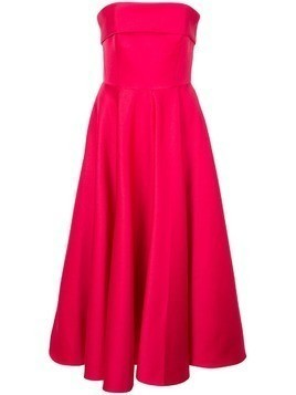 Jay Godfrey strapless midi dress - Pink