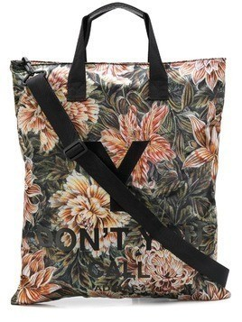 Y-3 floral shoulder bag - Black