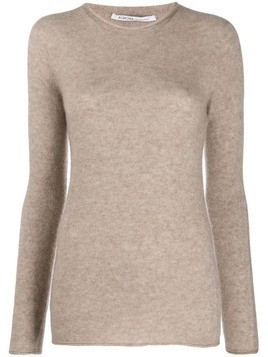 Agnona fine knit jumper - NEUTRALS
