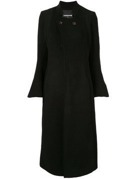 Aganovich flared sleeve coat - Black