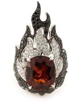 Garrard 'Fire Of London' ring - Metallic
