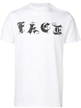 Facetasm logo print T-shirt - White