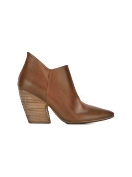 Marsèll pointed toe distressed boots - Brown