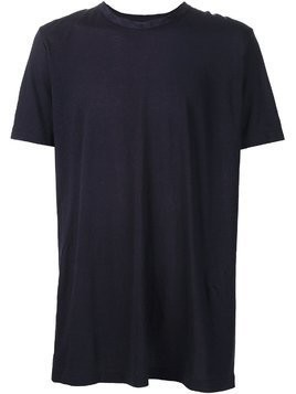 Ziggy Chen round neck loose T-shirt - Blue
