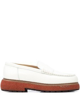 Flamingo's Mabel slip-on loafers - White