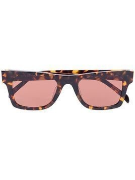 Karen Wazen Harper square sunglasses - Brown