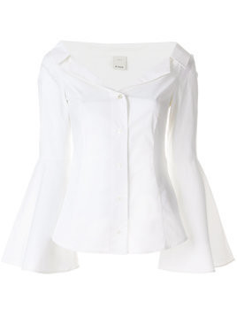 Pinko flared sleeves shirt - White