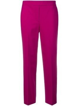 Theory relaxed trousers - Pink & Purple