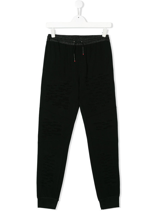 Diesel Kids TEEN Pwestin track pants - Black