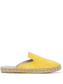 Manebi slip-on Hamptons espadrilles - Yellow