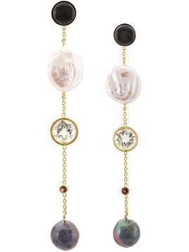 Lizzie Fortunato Jewels Bon Vivant earrings - GOLD