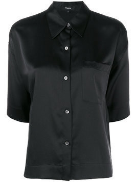 Theory chest pocket shirt - Black