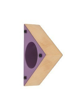 Corto Moltedo triangular bangle - Purple