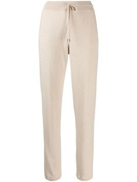 Loro Piana knitted track pants - Neutrals