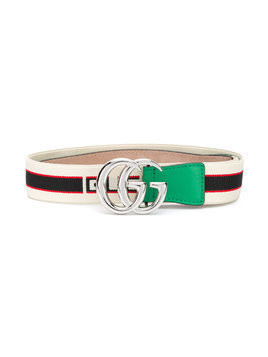 Gucci Kids Double G logo buckle belt - Nude & Neutrals