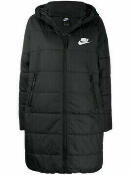 Nike NSW synthetic-fill parka - Black