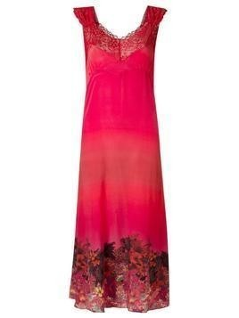 Amir Slama lace detail dress - Pink & Purple