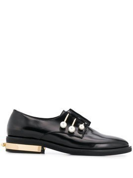 Coliac embellished loafers - Black