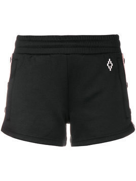Marcelo Burlon County Of Milan Cross tape shorts - Black