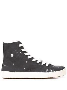 Maison Margiela Tabi high-top sneakers - Black