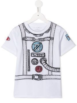 Stella McCartney Kids graphic print T-shirt - White
