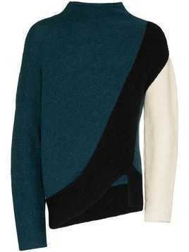 Kiko Kostadinov Rex striped jumper - Green