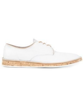 Premiata cork sole Derby shoes - White