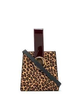 Lizzie Fortunato Jewels leopard print tote bag - Brown
