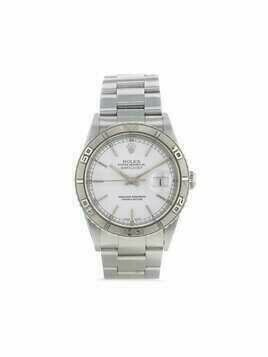 Rolex 2003 pre-owned Datejust 36mm - White