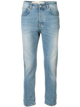 Haikure cropped slim fit jeans - Blue