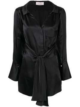 Hellessy Clark belted shirt - Black