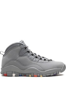 Jordan air jordan 10 retro sneakers - Grey