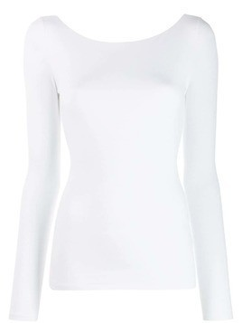 Acne Studios open back sweatshirt - White