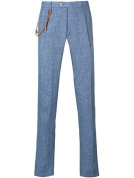 Berwich straight-cut trousers - Blue