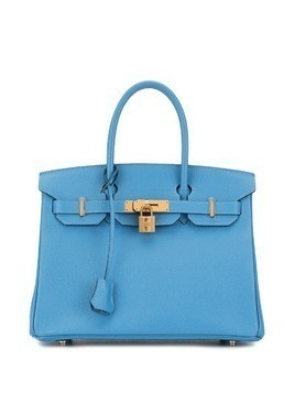 Hermès Pre-Owned Birkin 30 hand bag - Blue