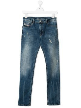 Diesel Kids slim-fit jeans - Blue