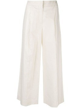 Fabiana Filippi wide leg trousers - Neutrals