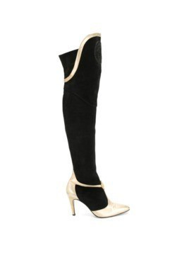 Versace Vintage knee-length boots - Black
