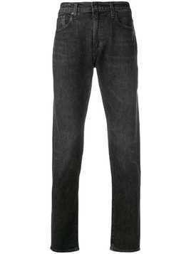 Levi's: Made & Crafted slim fit jeans - Black