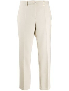 Luisa Cerano cropped tailored trousers - NEUTRALS