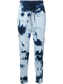 Mauna Kea skinny fit sweatpants - Blue