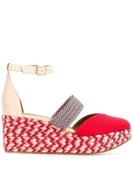 Malone Souliers Sasha espadrilles - Red