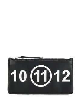Maison Margiela 11 zip-top clutch - Black