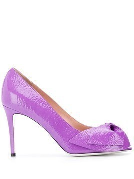 Pollini peep toe pumps - Purple