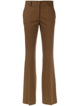 P.A.R.O.S.H. bootcut trousers - Brown